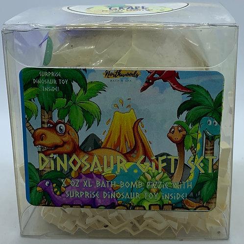 Colossal Dinosaur (Grape) XXL 8 oz Bath Bomb Gift Set