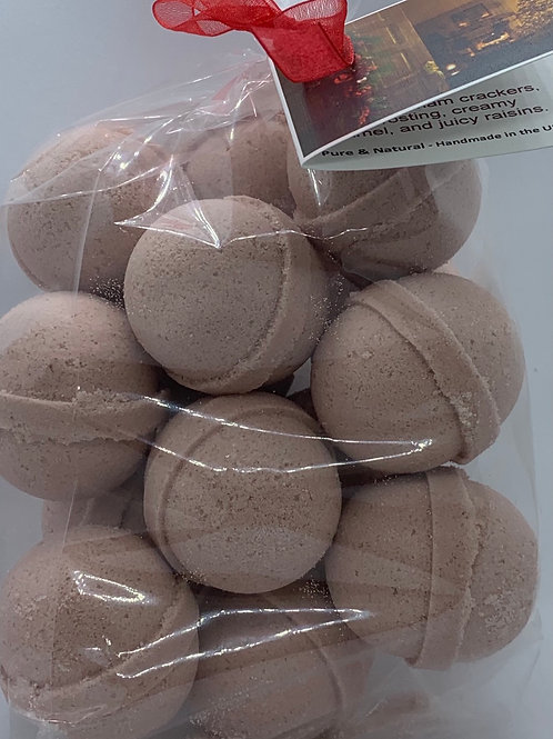Welcome Home 14-pack Bath Bomb Fizzies (round balls)