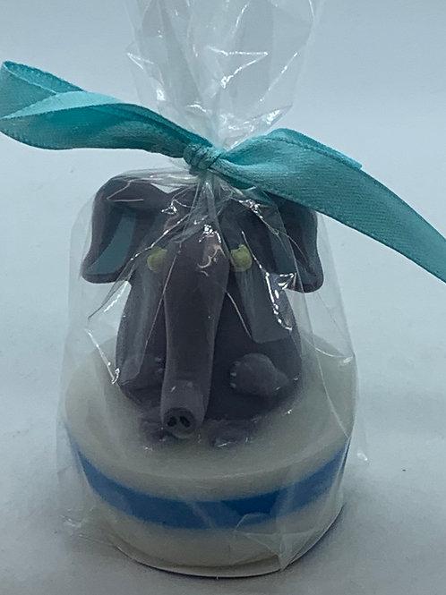 Bubblegum 1 oz Elephant Popper Soap