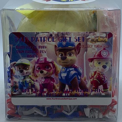 """""""Chase"""" Paw Patrol XL 5.5 oz Bath Bomb Gift Set (Monkey Farts)"""