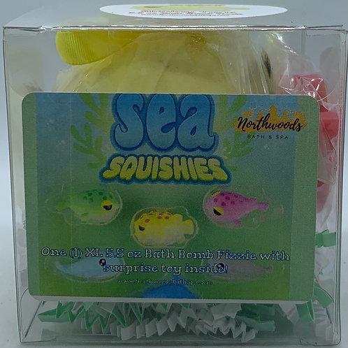 Sea Squishies (Monkey Farts) 5.5 oz Bath Bomb Gift Set