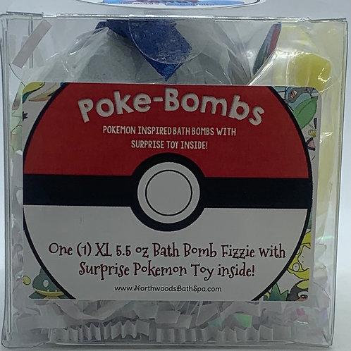 Poke-bomb (Tangy) 5.5 oz Bath Bomb Gift Set
