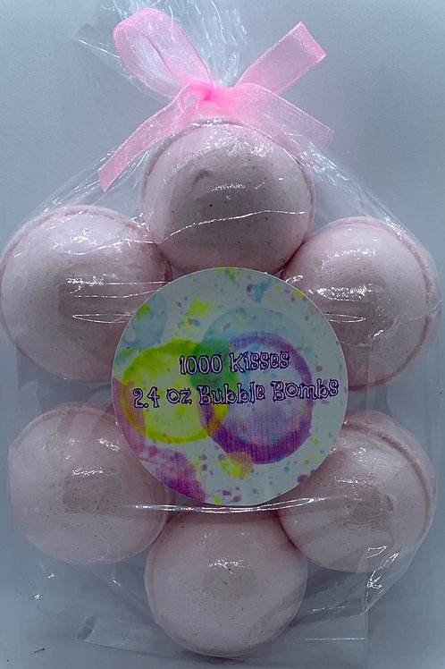 1000 Kisses 7-pack Bubble Bombs