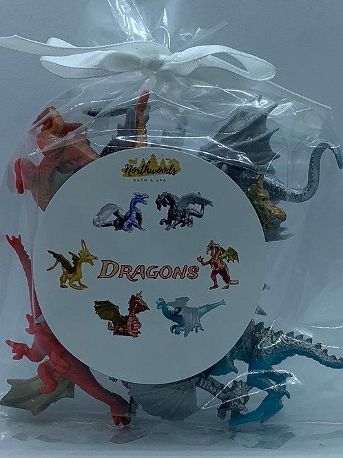 Dragon Toys - Set of 8