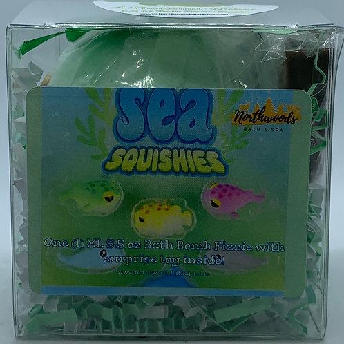 Sea Squishies (A Thousand Wishes) 5.5 oz Bath Bomb Gift Set