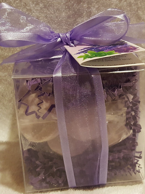 Lavender Mint 14-pack Bath Bomb Gift Set