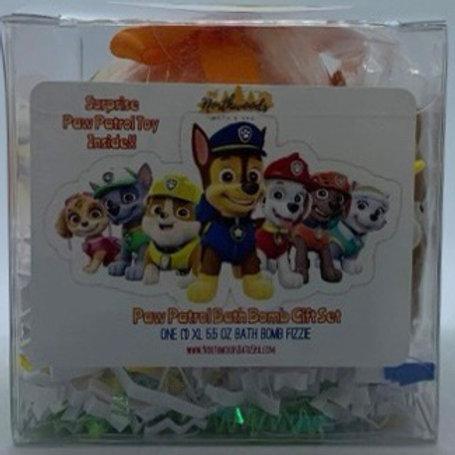 """Paw Patrol """"Rubble"""" XL 5.5 oz Bath Bomb Gift Set"""