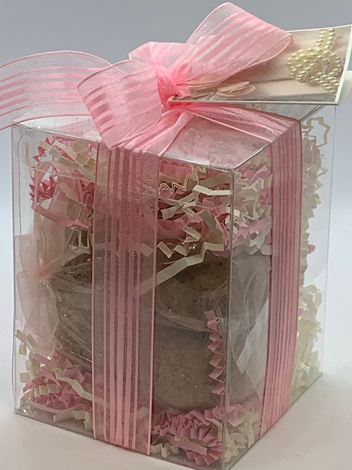 Vanilla Lace & Pearls 7-pack Bath Bomb Gift Set