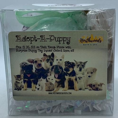 Adopt-A-Puppy (Buddy) 5.5 oz Bath Bomb Gift Set