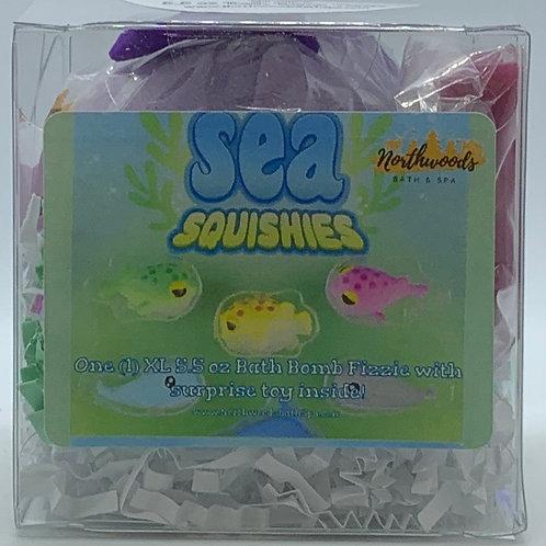 Sea Squishies (Grape) 5.5 oz Bath Bomb Gift Set