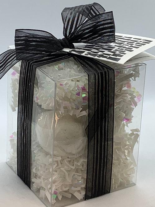 Little Black Dress 7-pack Bath Bomb Gift Set