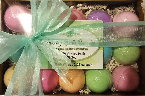 Bath Fizzie Variety Pack Gift Set