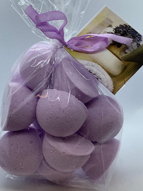 Lavender Chamomile 14-pack Bath Bomb Fizzies