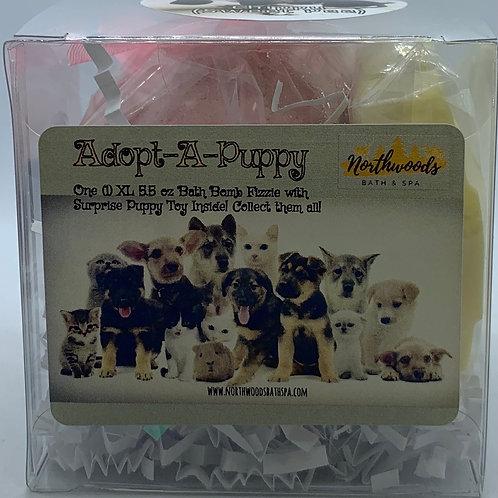 Adopt-A-Puppy (Chippy) 5.5 oz Bath Bomb Gift Set