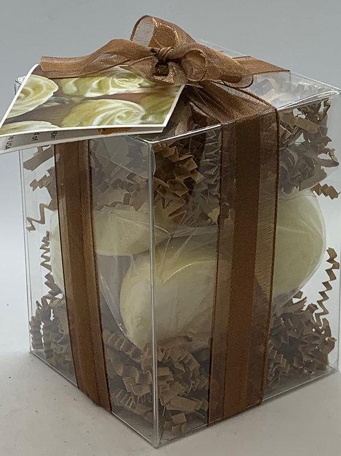 Lemon Creme 7-pack Bath Bomb Gift Set
