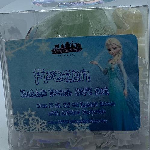 "Frozen ""Melon"" 5.5 oz Bubble Bomb Gift Set"