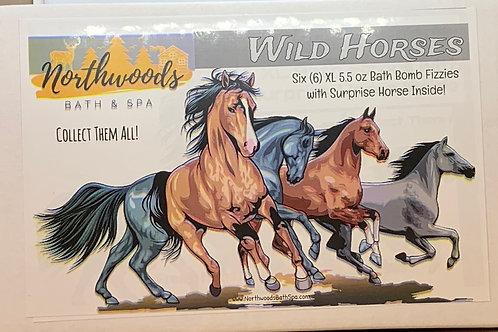 Wild Horses 6-pack Gift Set