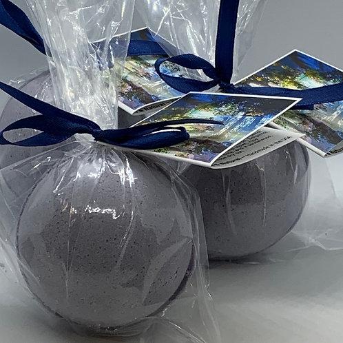 Calabrian, Bergamot & Violet - Three (3) XL 5.5 oz Bath Bomb Fizzies