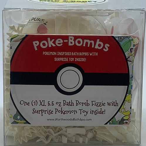 Poke-bomb (Eevee) 5.5 oz Bath Bomb Gift Set