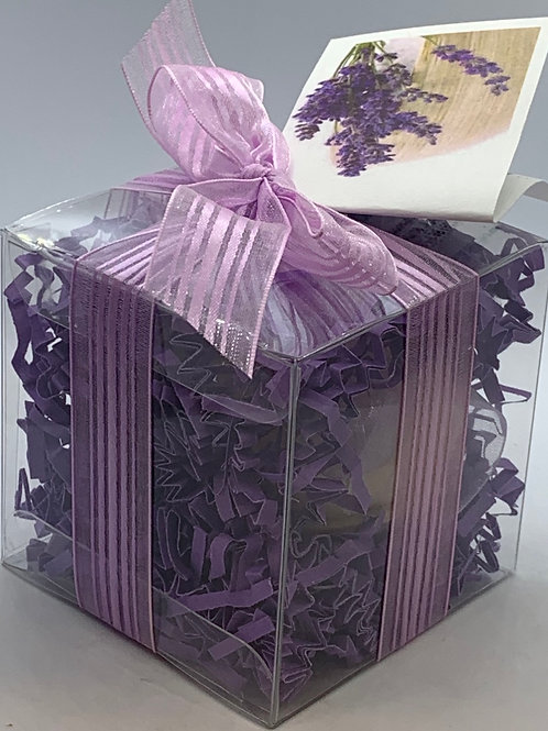 Lavender Vanilla 5.5 oz Bath Bomb Gift Set