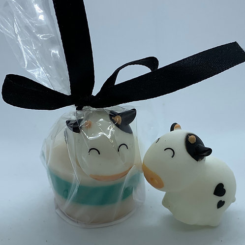 """Water Squirter """"Cow"""" 1.3 oz Jelly Bean Soap"""