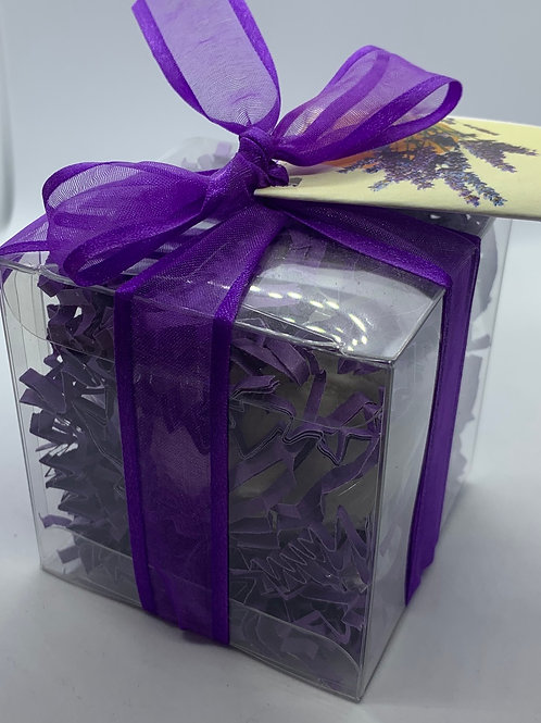 Clementine Lavender 5.5 oz Bath Bomb Gift Set