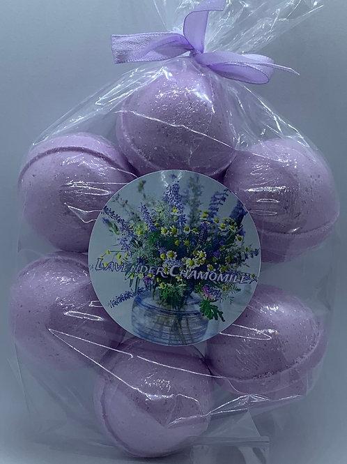 Lavender Chamomile 7-pack Bath Bomb Fizzies