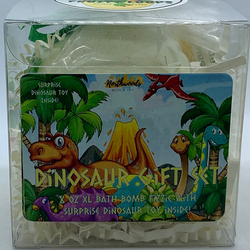 Colossal Dinosaur (Fruity Loops) XXL 8 oz Bath Bomb Gift Set