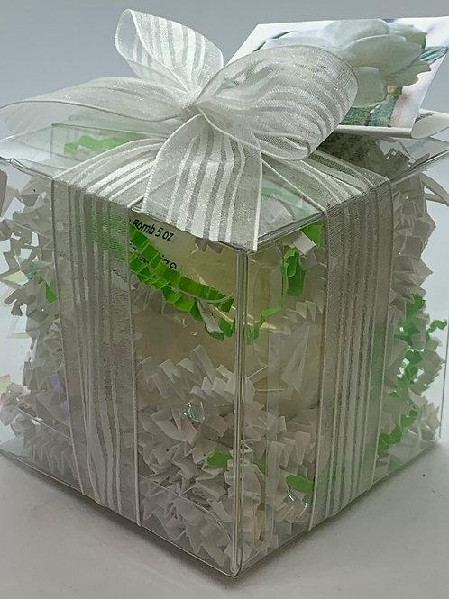 Gardenia 5.5 oz Bath Bomb Gift Set