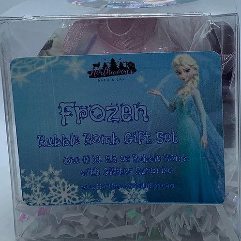 """Frozen """"Berry"""" 5.5 oz Bubble Bomb Gift Set"""