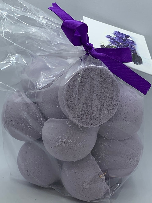 Tassie Lavender 14-pack Bath Bomb Fizzies