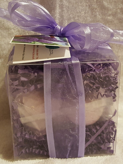 French Lilac 14-pack Bath Bomb Gift Set