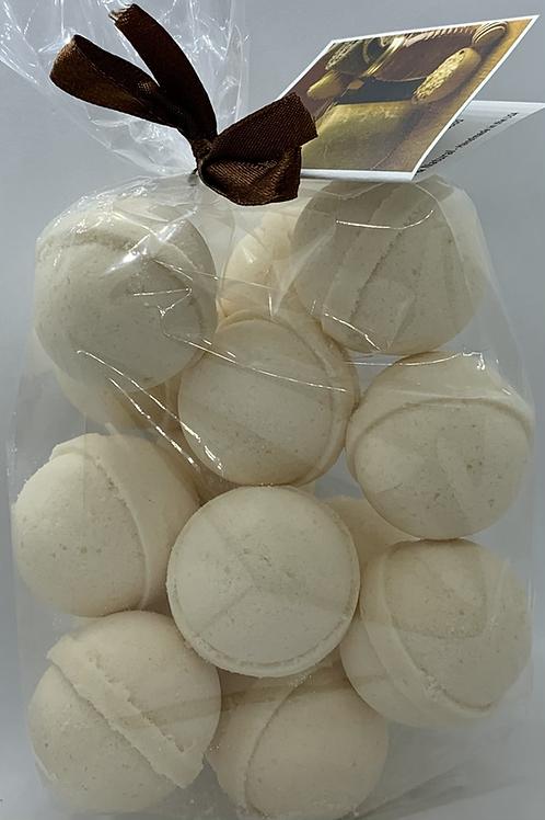 Oatmeal, Milk & Honey 14-pack Bath Bomb Fizzies (round balls)