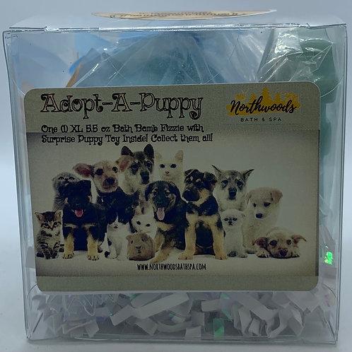 Adopt-A-Puppy (Champ) 5.5 oz Bath Bomb Gift Set