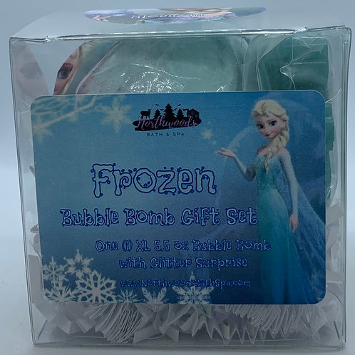"Frozen ""Blossom"" 5.5 oz Bubble Bomb Gift Set"