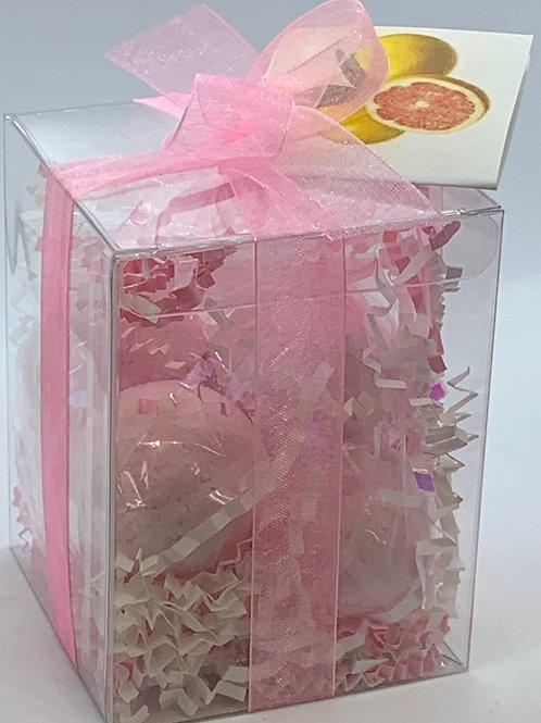 Pink Grapefruit and Citrus 7-pack Bath Bomb Gift Set