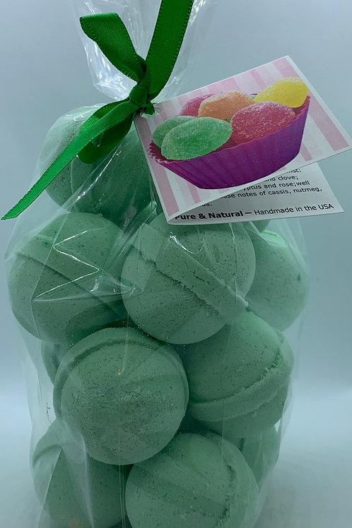 Goodie Goodie Gumdrops 14-pack Bath Bomb Fizzies (round balls)