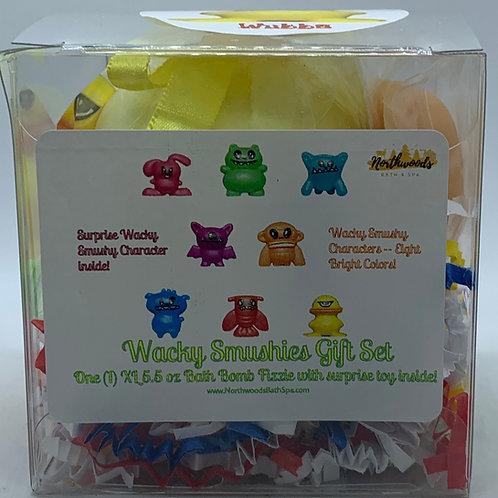 Wacky Smushies (Wubba) (b) 5.5 oz Bath Bomb Gift Set