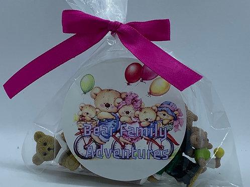 Bear Family Adventures Toys - Set of 10