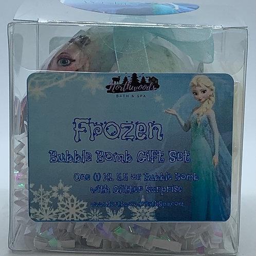"Frozen ""Wishes"" 5.5 oz Bubble Bomb Gift Set"