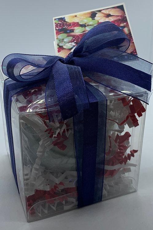 Blackberry Tangerine 5.5 oz Bath Bomb Gift Set