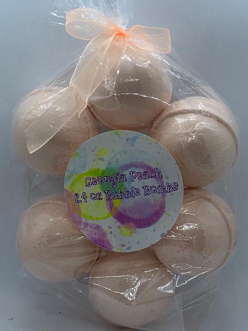 Georgia Peach 7-pack Bubble Bombs