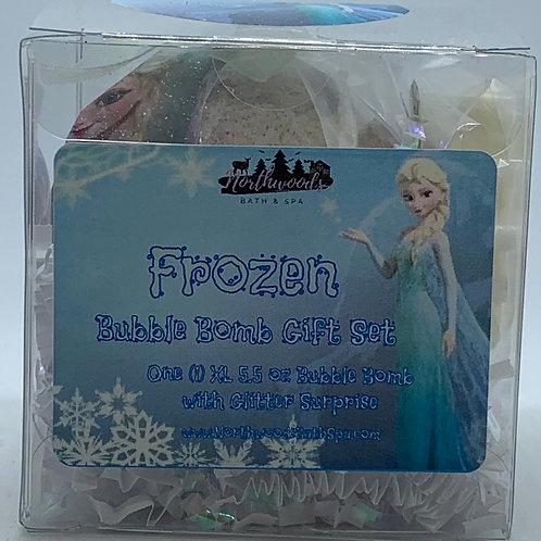 "Frozen ""Hugs"" 5.5 oz Bubble Bomb Gift Set"