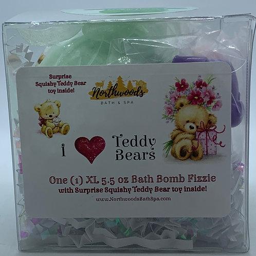 "I ""Heart"" Teddy Bears (Wishes) 5.5 oz Bath Bomb Gift Set"