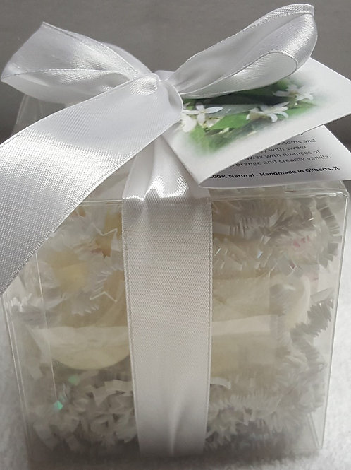 Orange Blossom & Honey 14-pack Bath Bomb Gift Set