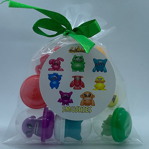 """Wacky"" Smushy Toys - Set of 8"