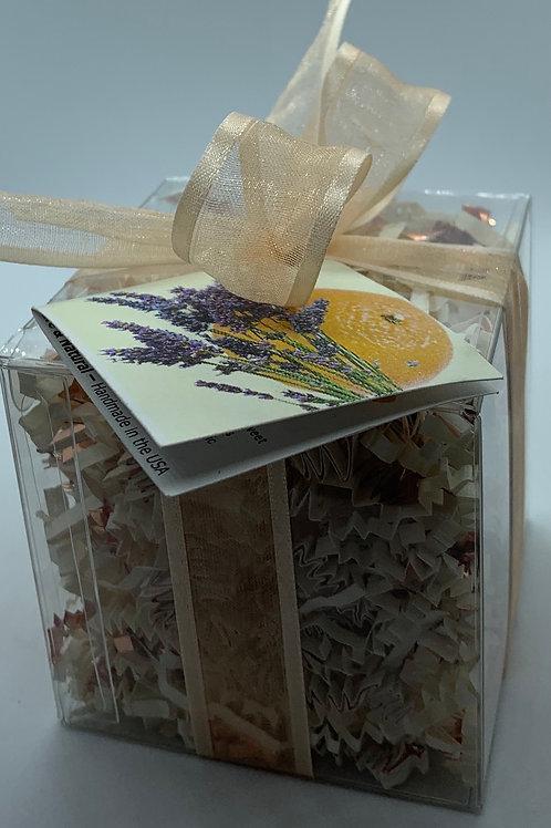 Clementine Lavender 5.5 oz Bath Bomb Gift Set (b)