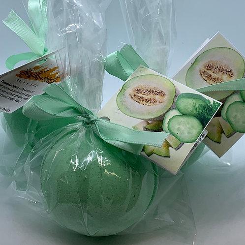 Cucumber Melon - Three (3) XL 5.5 oz Bath Bomb Fizzies