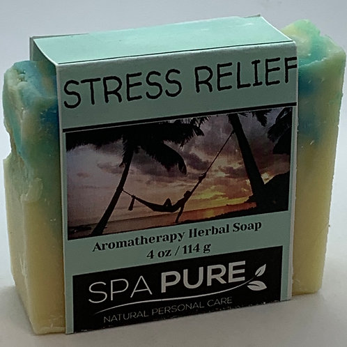 Stress Relief Aromatherapy Herbal Soap