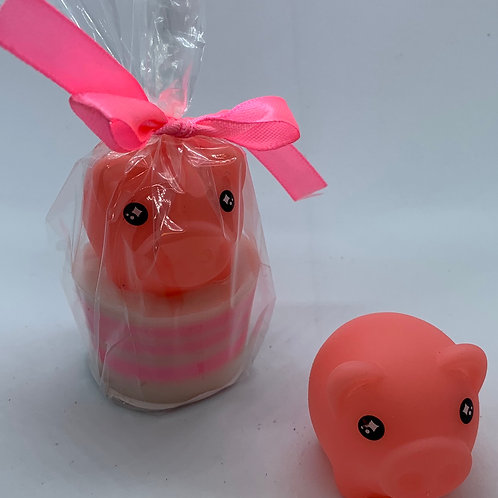 "Water Squirter ""Pig"" 1.3 oz Jelly Bean Soap"